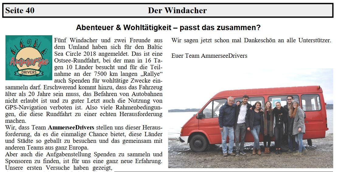 Foto Artikel Der Windacher