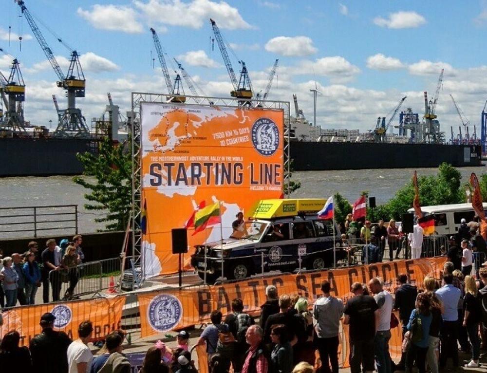 Der Start ist am 16.06.2018 um 10:00 im Hamburger Hafen